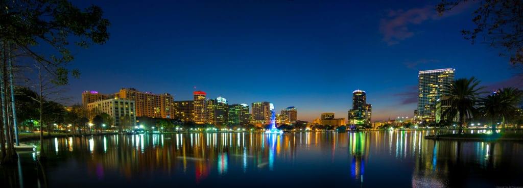 lake Eola en Orlando