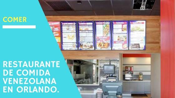 Restaurante de comida venezolana en Orlando