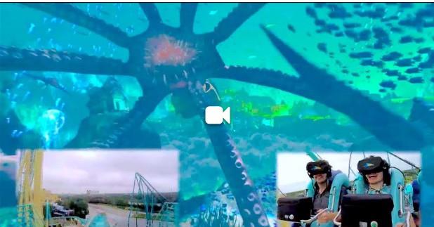 Kraken con realidad virtual