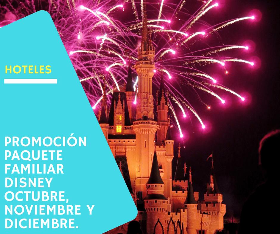 Promo si te alojas en Disney
