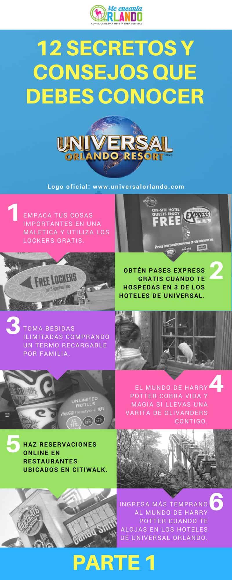 12 consejos para visitar Universal Orlando