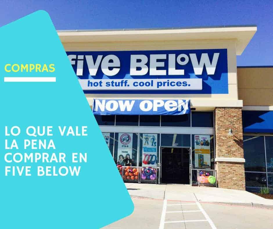 comprar en Five Below