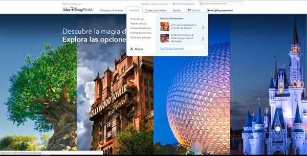 descuentos de Disney World