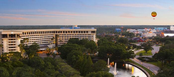 Hoteles en Disney Springs