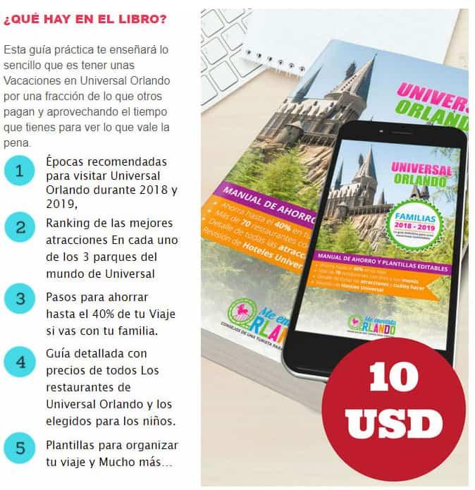 guía de viaje a Universal Orlando