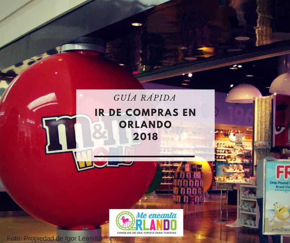 de compras en Orlando 2018