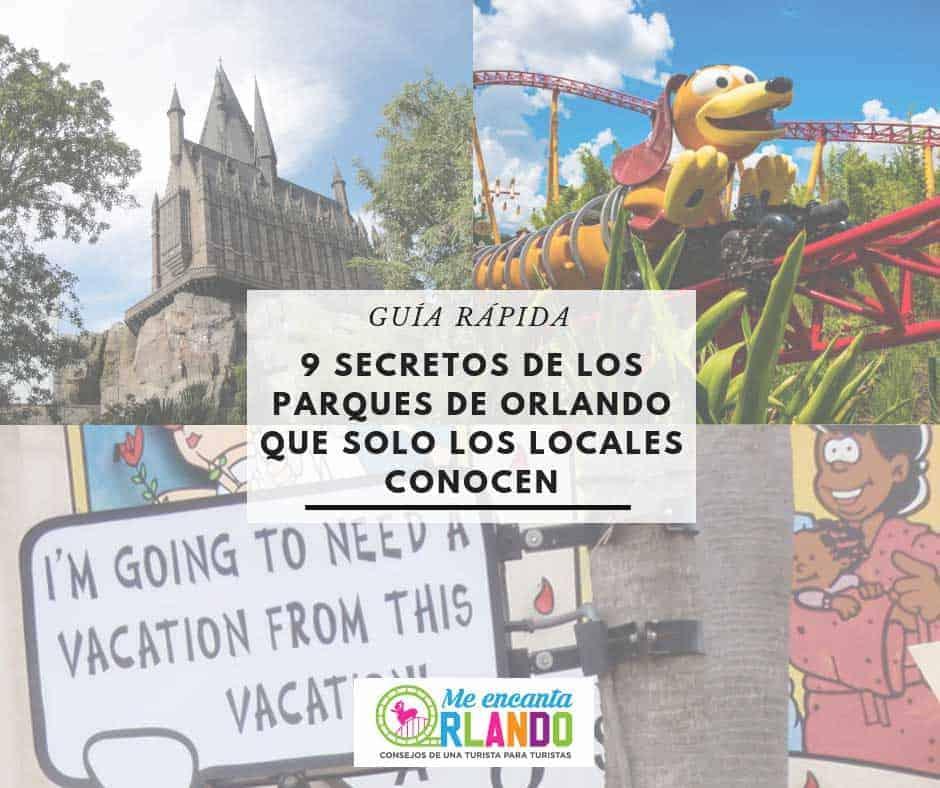secretos de los parques de Orlando