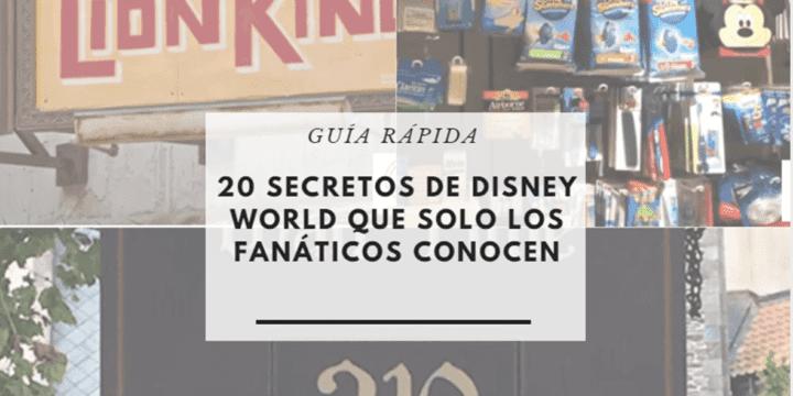 20 secretos de Disney que solo los fanáticos conocen